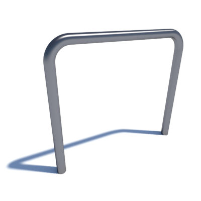 Streetscape olympic bike rack