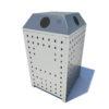 Vanguard recycling waste bin