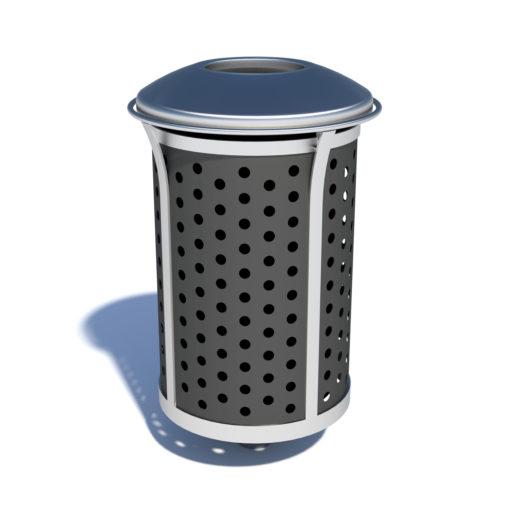 Velocity waste bin