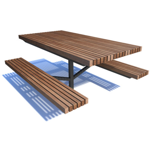 Streetscape richmond picnic set
