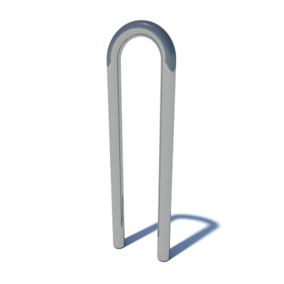 Streetscape scope bike rack